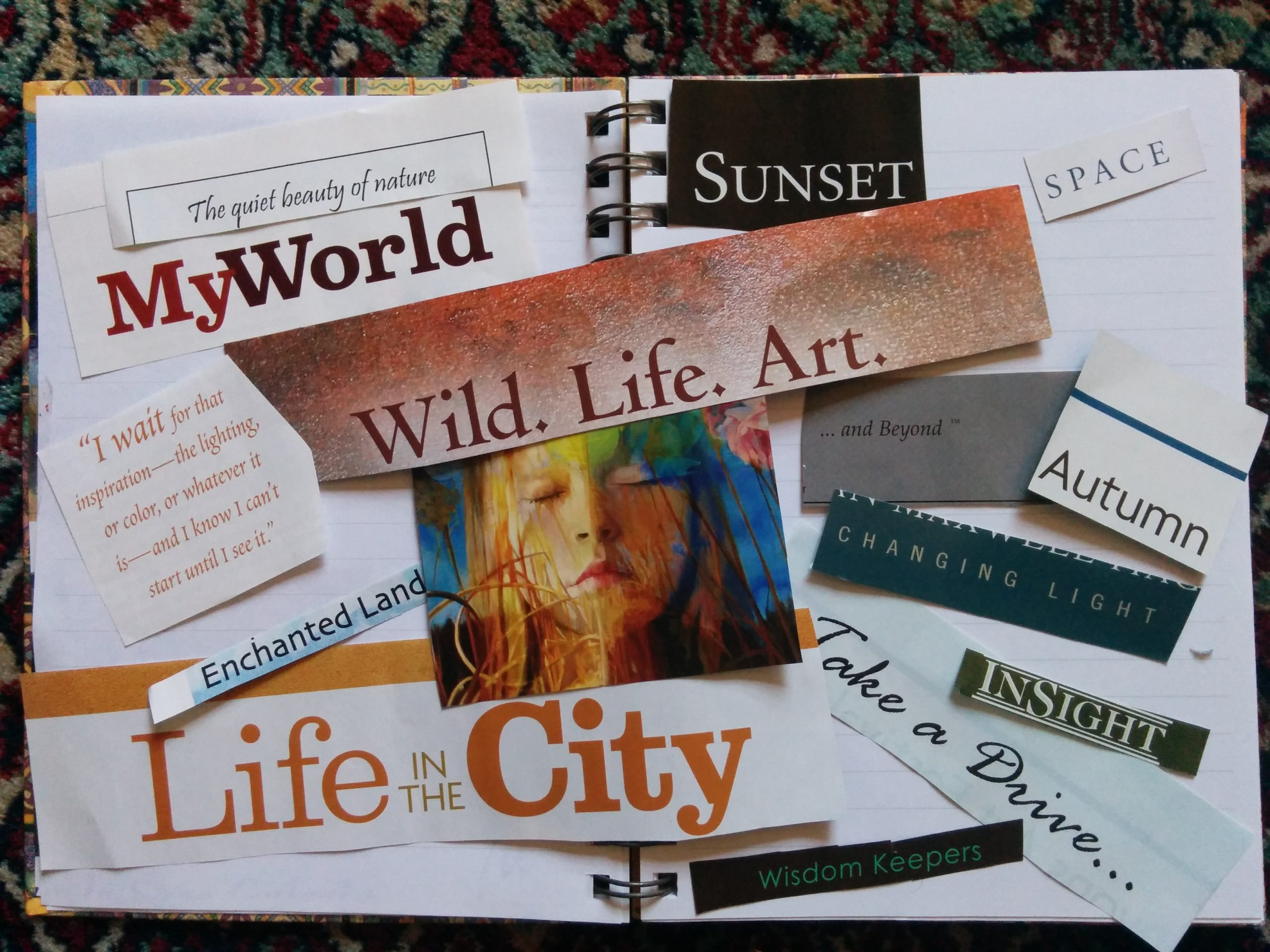 Vision board: How a vision board can make you travel the world