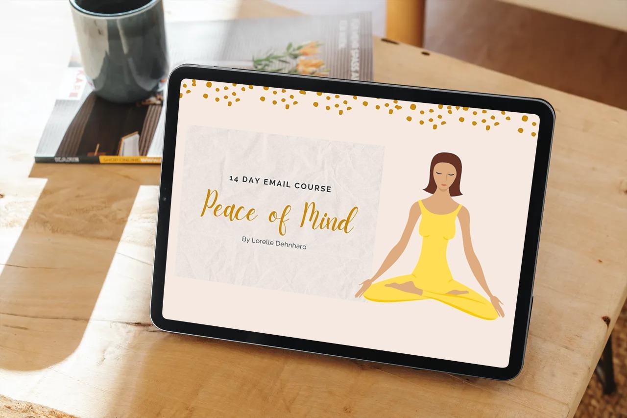 peace of mind course